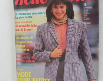 NEUE MODE November 1989 magazine