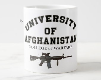More University of Afghanistan, College Of Warfare 20 OZ Coffee Mugs (XXX Styles)