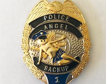 Law Enforcement Backup Angel Shield W/Bayonet Back