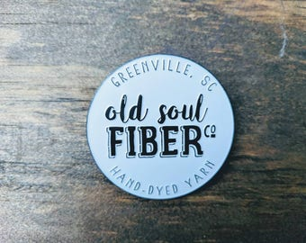 Enamel Pin - Old Soul Fiber Co.
