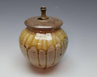 Salt fired listed Urn - Jar