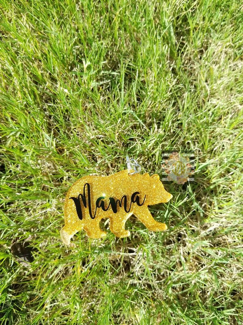 Mama bear keychainacrylic keychain acrylic mama bear  317ee4105dee