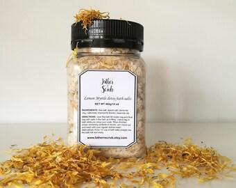 400g Natural Bath salts, Detox bath soak, bath soak, detox bath salts, botanical soak, bentonite clay bath, relaxation gift, gift for mum