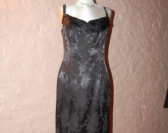 Black long dress size 42