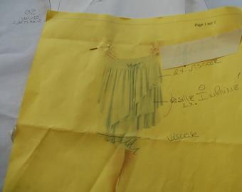 PATTERN D asymmetric skirt