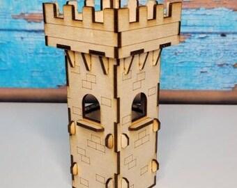 RPG Castle Tower - DND Miniatures - RPG Terrain & Accessories - Castle Corner