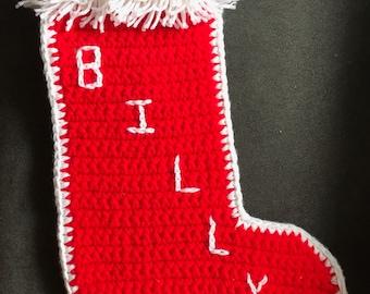 Crocheted Christmas Stockings