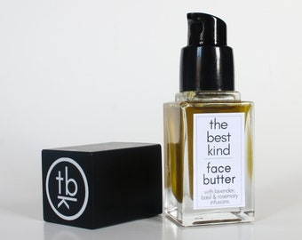 Face Butter Serum (with Lavender, Basil & Rosemary Oil Infusions)