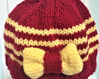 Hand Made Knit Baby Hat