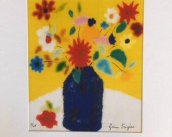 Flower Vase on White Table