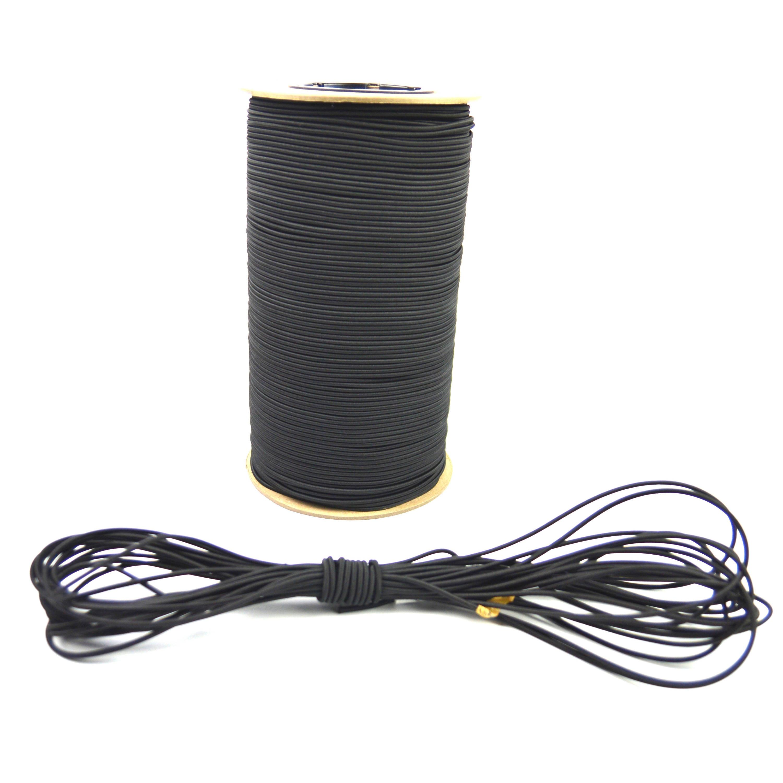 "USA 1//8/"" x 100/' Bungee Cord Shock Cord Bungie Cord Marine Grade Stretch Cord WHT"
