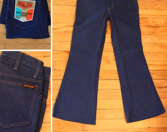 f837c129a38 Vintage 70 s Jeans waist 25-26 bell bottoms