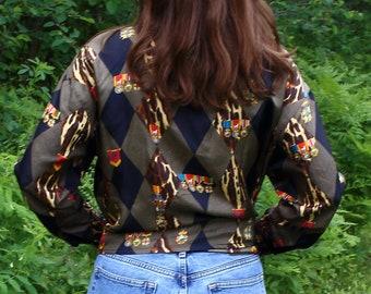 ae8cc8f978e7a Escada Margaretha Ley leopard print blouse