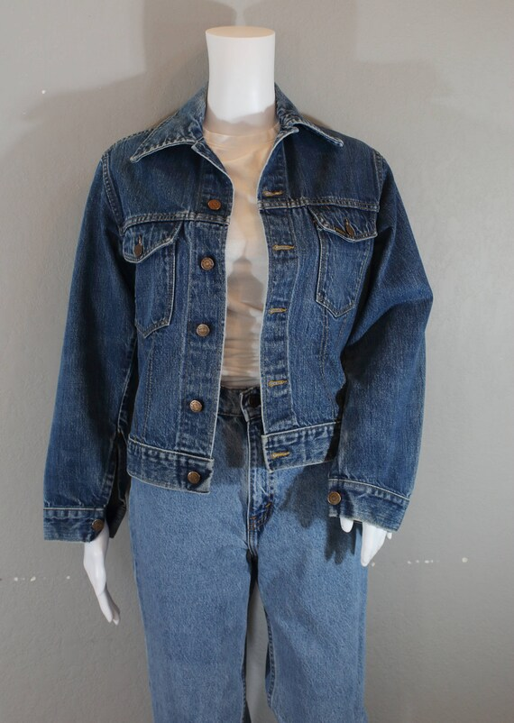 d96daa3a3e Vintage Denim Jacket Sears and Roebuck