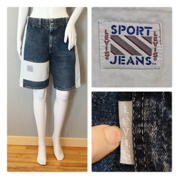 80's LEVI SHORTS long board shorts womens colorblo