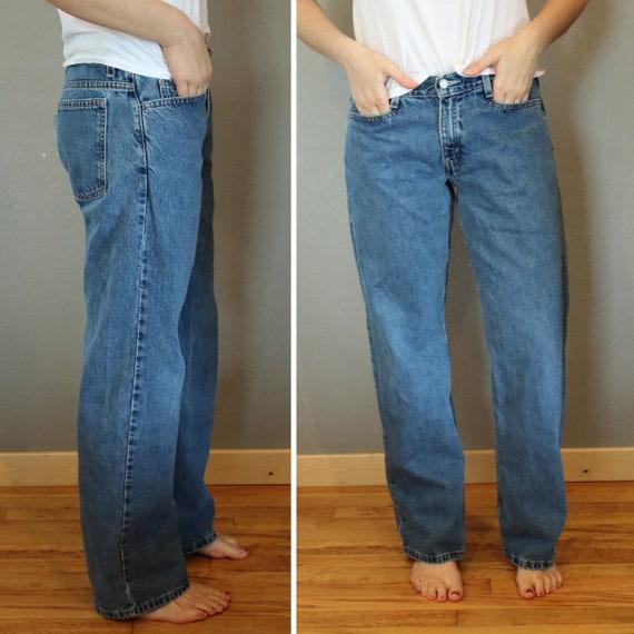 Levi S Silvertab Jeans Waist 31 33 Pulgadas Novio Jeans Etsy