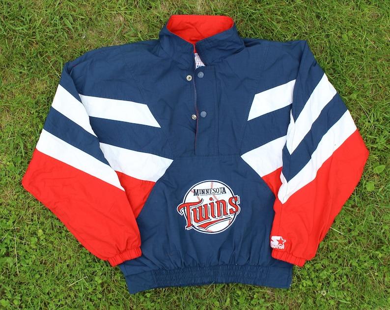 low priced 18c8b 44b01 Minnesota Twins Starter Jacket/ pullover, nylon, size medium