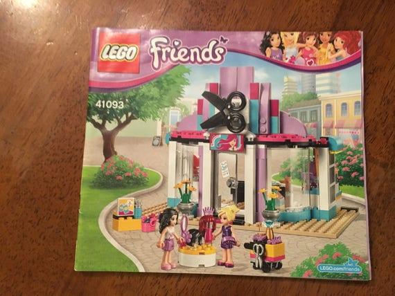 Lego Friends Heartlake Hair Salon 41093 Instructions Booklet