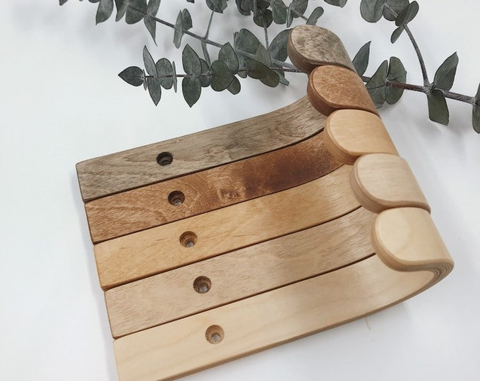 Featured listing image: Minimalist birch plywood wall hook