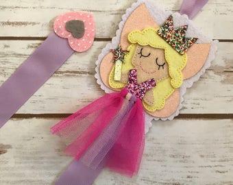 Fairy hair bow holder