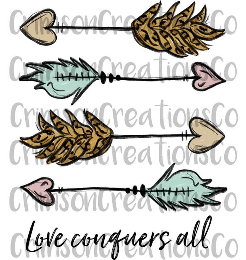 Download Love conquers all Sublimation Transfer Feather Sublimation ...