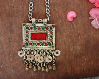 Vintage Afghani Tribal Necklace