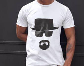 breaking bad heisenberg walter white shirt gift