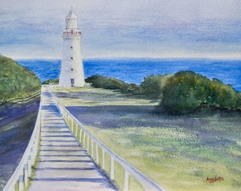 Great Ocean Road Lighthouse giclee art print