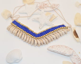 Blue lagoon, Choker necklace,Burning Man, Festival Clothing, Burning Man Clothing Women, Rave Accessories,Music Festival Clothing, Christmas