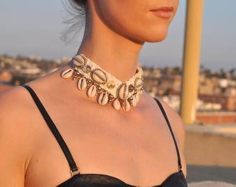 Chocker Necklace,Burning Man, Festival Clothing, Burning Man Clothing Women, Rave Accessories,Music Festival Clothing, choker collar, boho