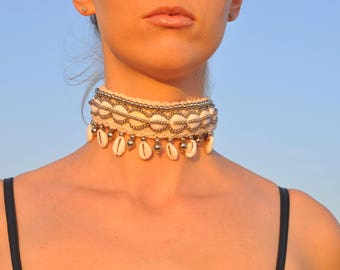 Choker necklace,Burning Man, Festival Clothing, Burning Man Clothing Women, Rave Accessories,Music Festival Clothing, Christmas