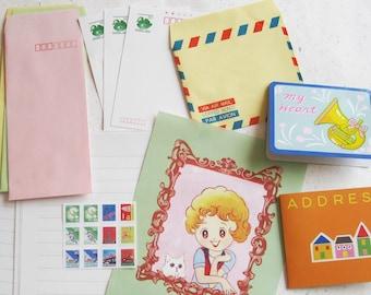Mini Retro Letter Set