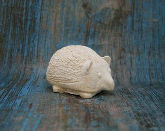 ready to paint plaster raw Hedgehog