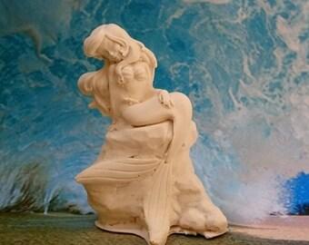 Ariel the Little Mermaid plaster paint