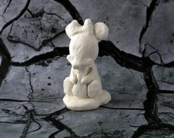 minnie version baby bottle figurine