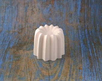 Fluted actual size of plaster paint