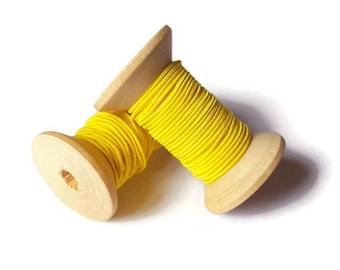 Yellow elastic son 1 mm