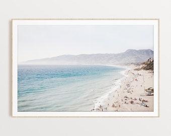 California Beach Wall Art Coastal Print Digital Download Modern Boho Wall Art Ocean Print Beach Wall Decor Instant Download California Photo