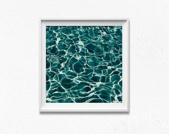 Ocean print, ocean wall art, sea poster, ocean photography, ocean waves print