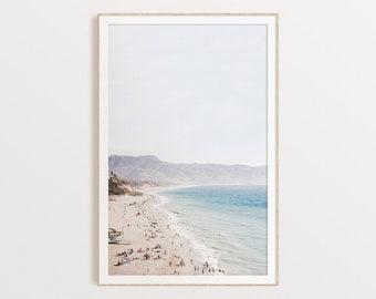 Coastal Print, California Beach Print, DIGITAL DOWNLOAD, California Poster, Ocean Wall Art, Coast Printable, Instant Download, Boho Wall Art