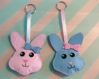 Bunnies: Choice of different colours (per 2)