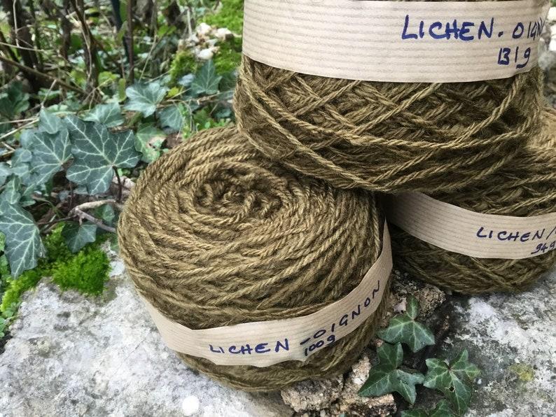 325g of handspun and hand dyed yarn