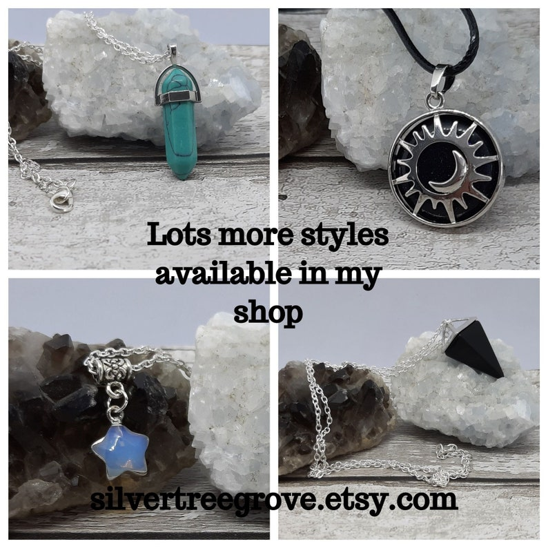 Labradorite Irregular Shaped Copper Edged Statement Pendant on Faux Suede Necklace Choice of Length Chakra Healing Reiki