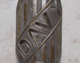 Old bike Cycles plate Davy Collection Head Badge Bikes Cycles bicycle