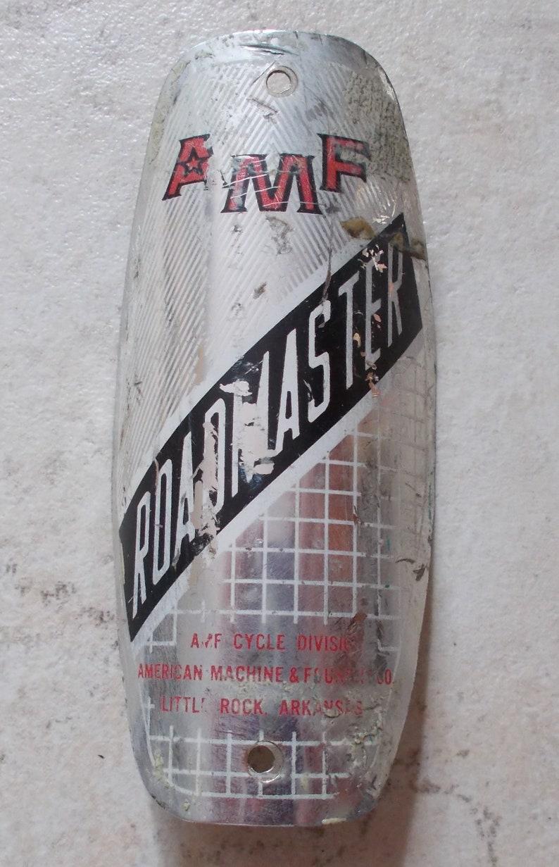 AMF Roadmaster headbadge decal 2