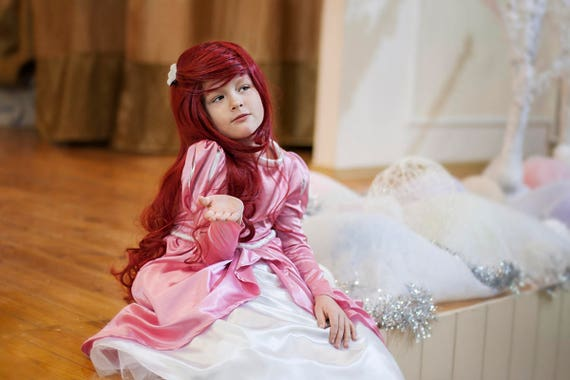 Disney Princess Ariel Costume Dress Ariel Size 6 7 Etsy