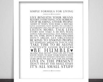 Life Quote Etsy