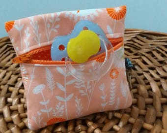 "Pouch pacifier ""Bawa Pocket"" / Baby nipple box / Pacifier pouch"