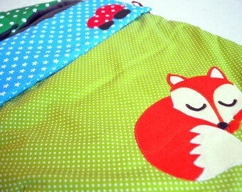 Small Bunting mixed pattern Fox
