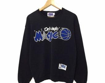 485319ecbd9 Vintage 90s Orlando Magic NBA Japan Games Basketball Sweatshirt Jumper  Sweater Hoodies Tshirt Crewneck Jacket